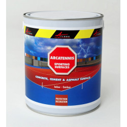 ARCATENNIS - Tennis court paint Anti-slip Anti-skid Renovate parking lot or sports ground