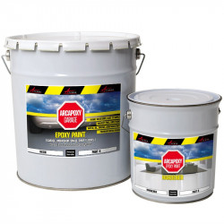 EPOXY PAINT - High resistance Epoxy paint Floor and wall coating two components no solvants Use in garage, shop floors