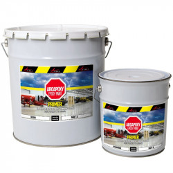 Arcapoxy Epoxy primer coat mortar cement stone metal wood glass polyester low voc