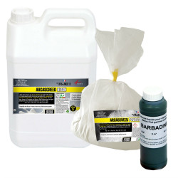 ARCASCREED POWDER + RESIN + COLORANT PACK - no primer and no varnish
