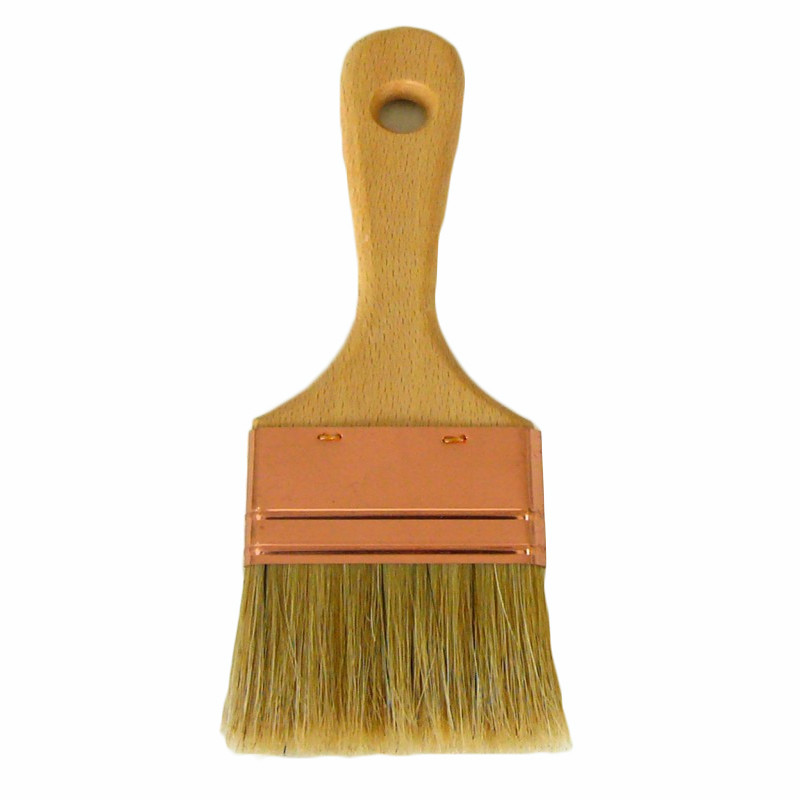 Spalter brush for pool paint, paint, primer