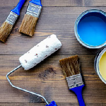 Paint and mineral coatings Tools